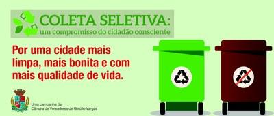 Coleta Seletiva de Resíduos Sólidos de Getúlio Vargas