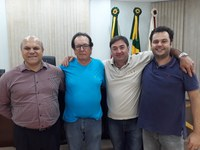 Aquiles Pessoa da Silva é o novo presidente do Poder Legislativo de Getúlio Vargas